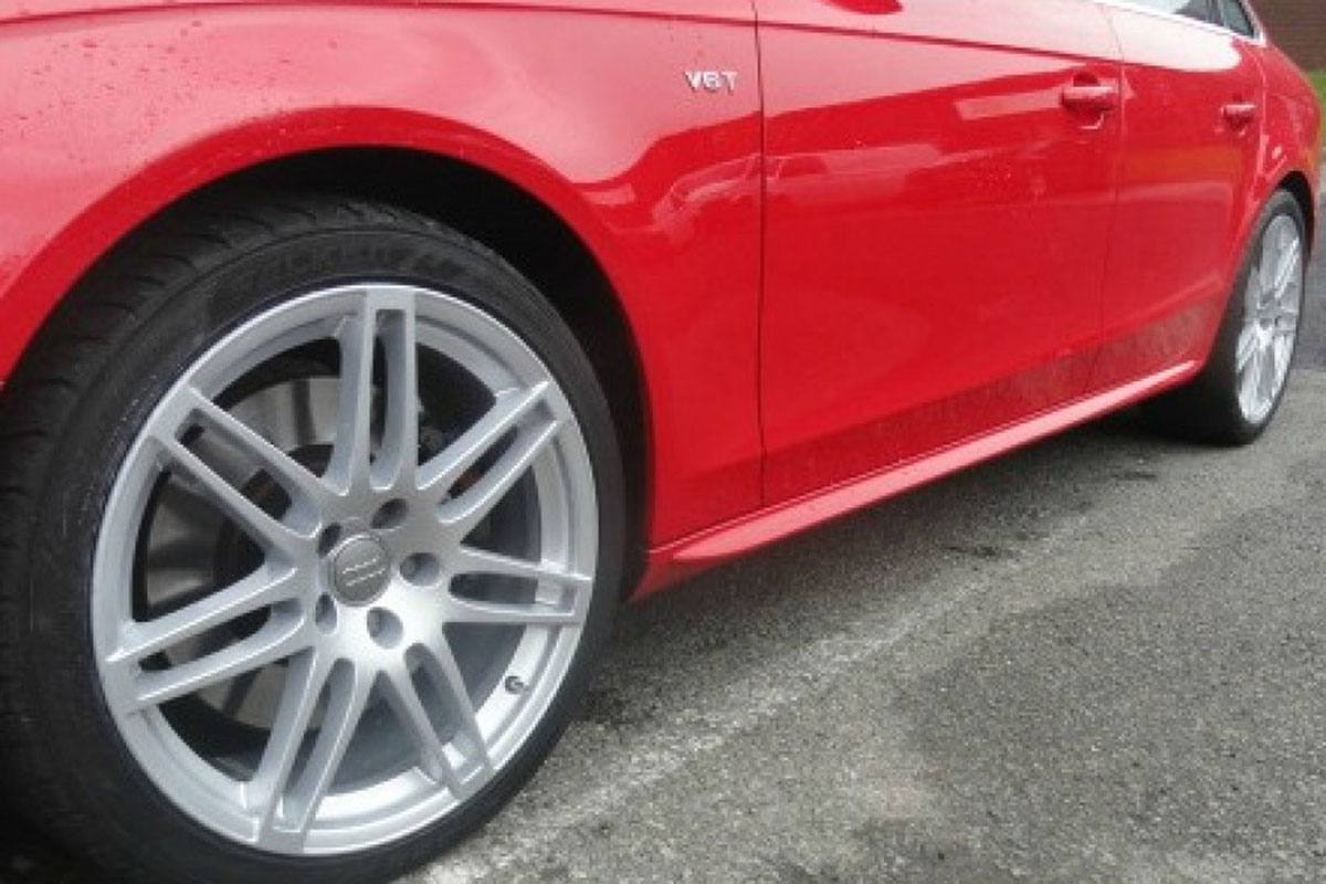 Audi Alloy Refurbishment