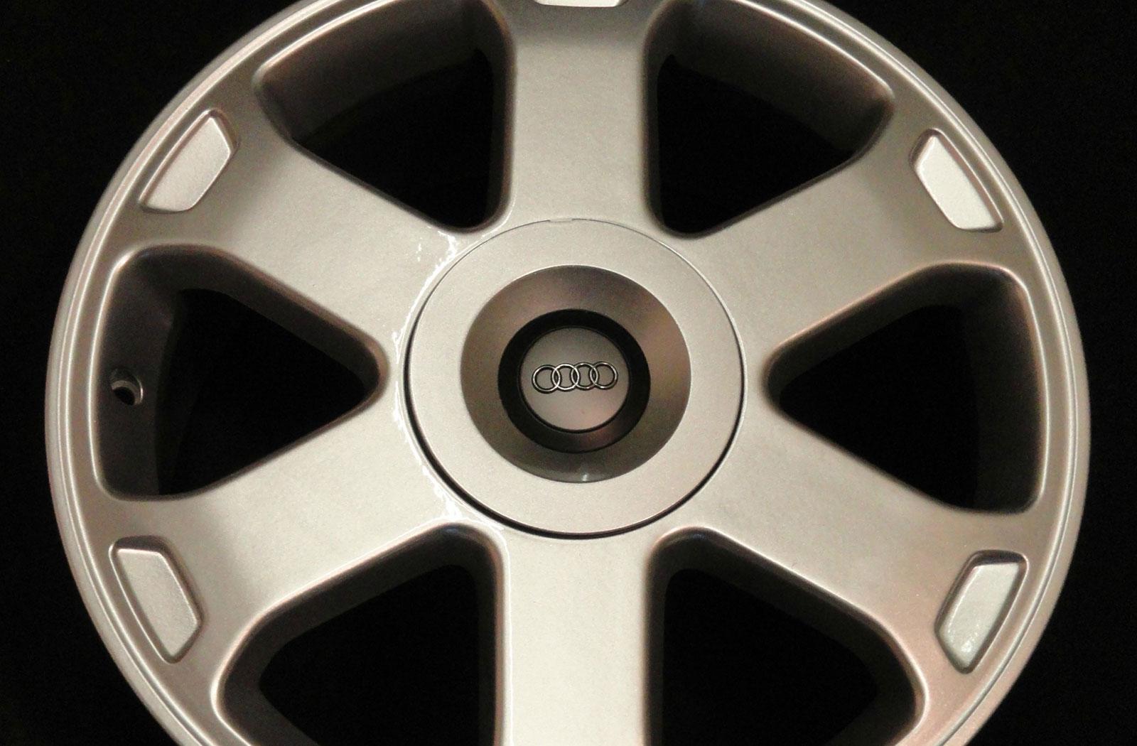 Audi Alloy Wheel Refurbishment