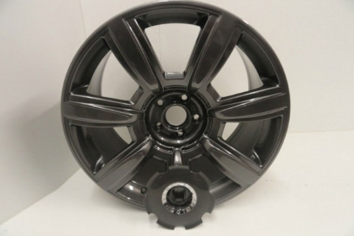 Bentley Alloy Wheel Refurbishment