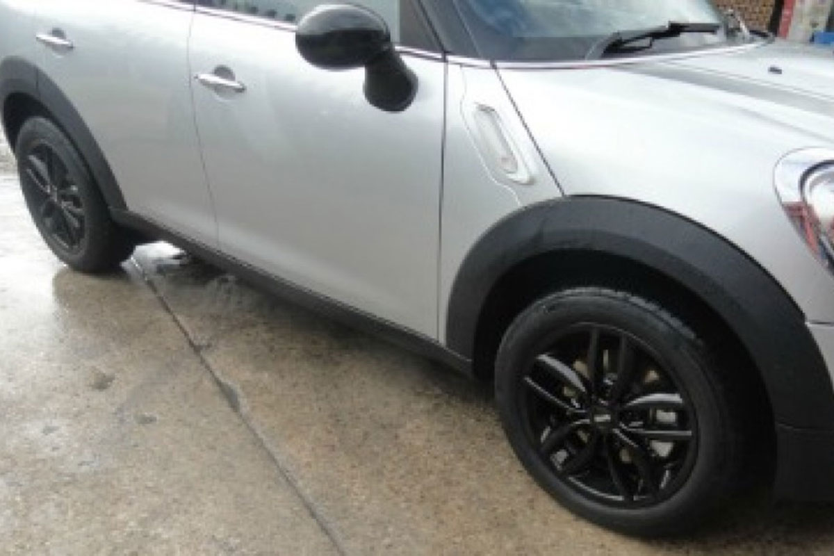 Mini Alloy Wheels After