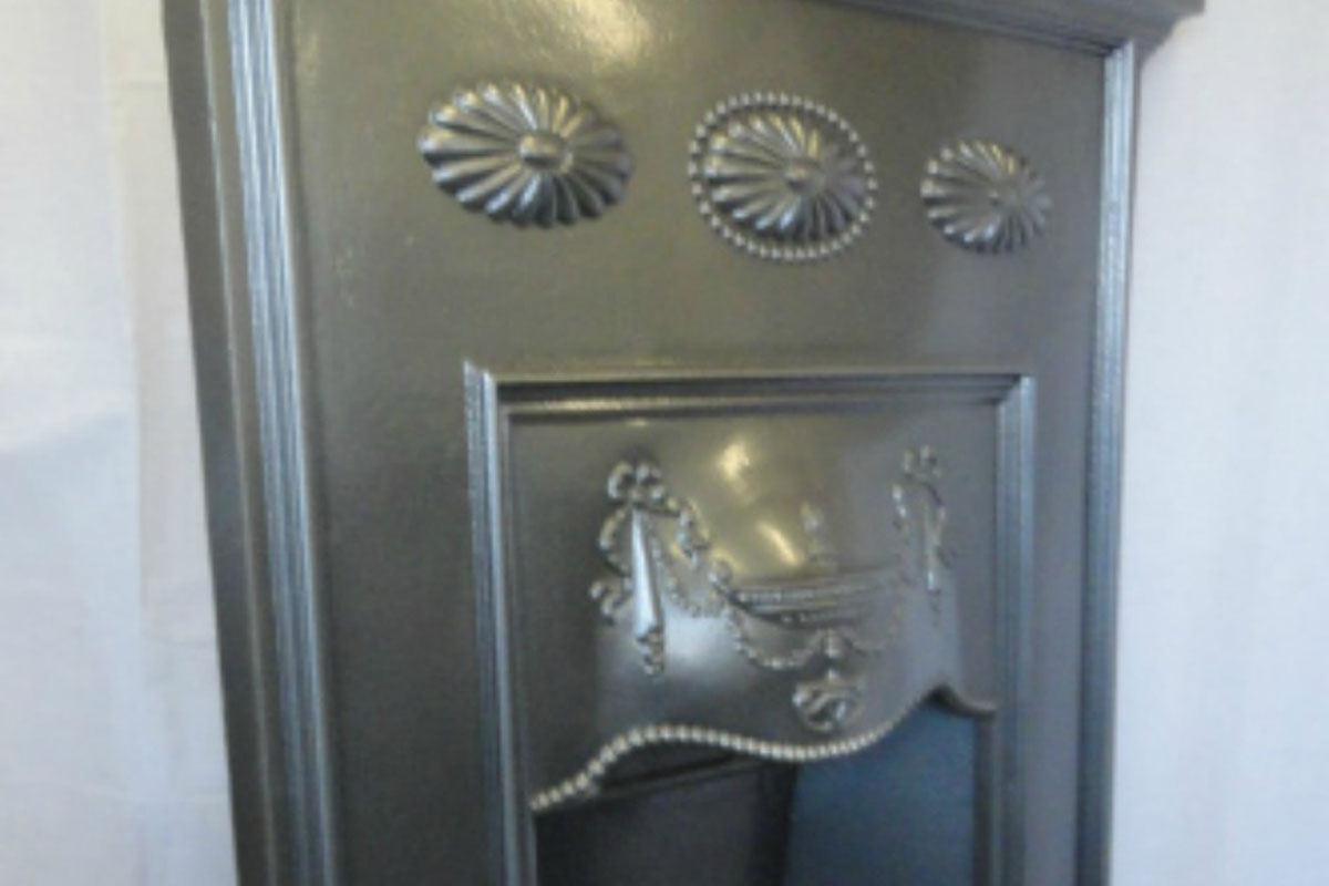 Fireplace After Restoration: