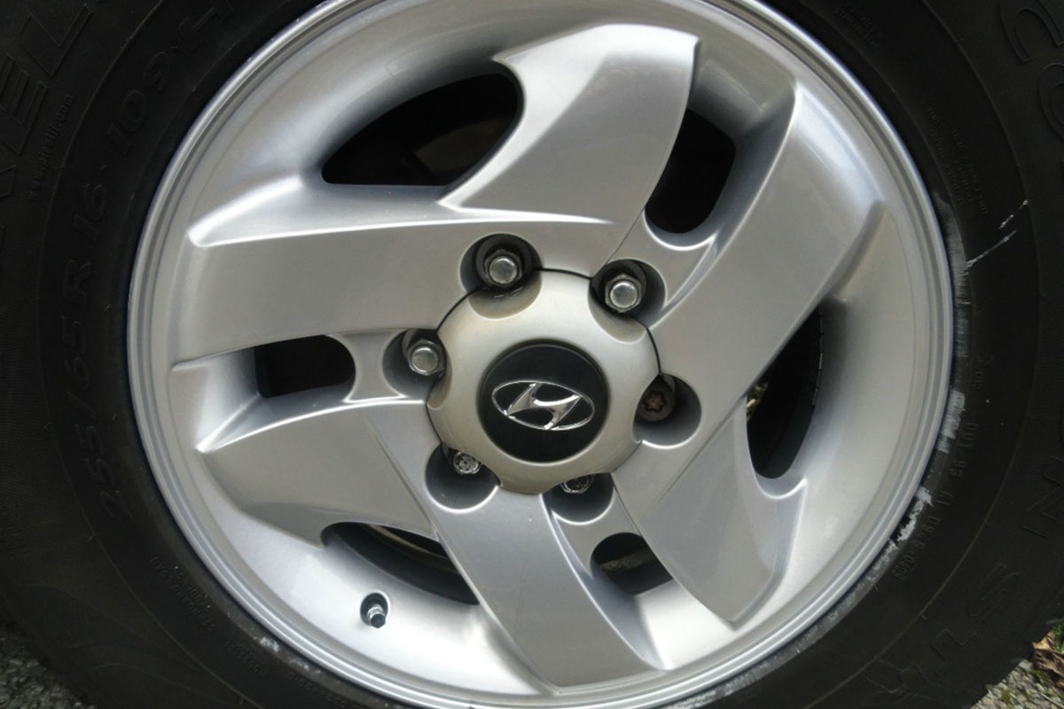 Hyundai Alloy Wheel Refurbishment