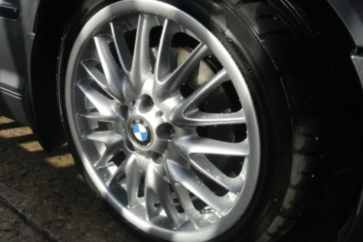 BMW Wheel Refurbishment