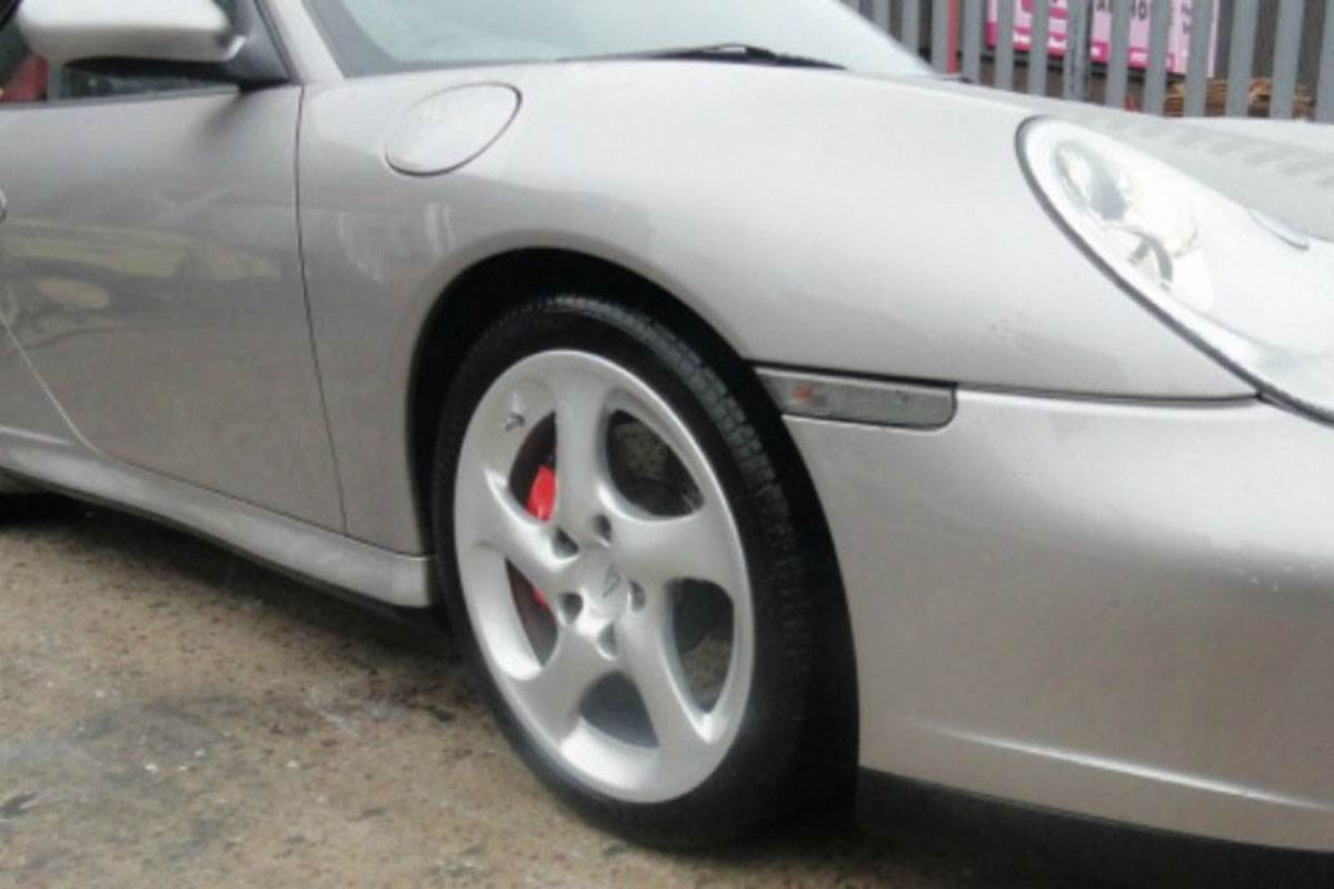 Porsche After Refurbishment