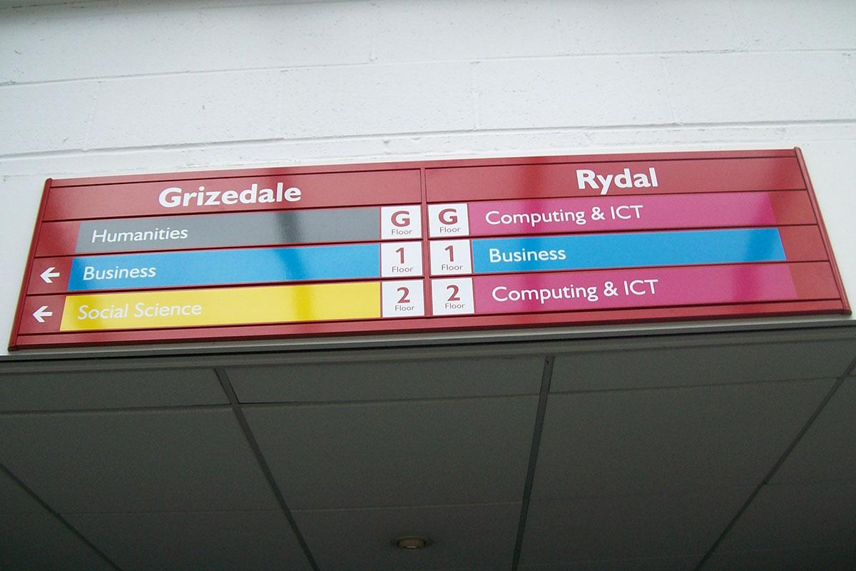 NHS Signage