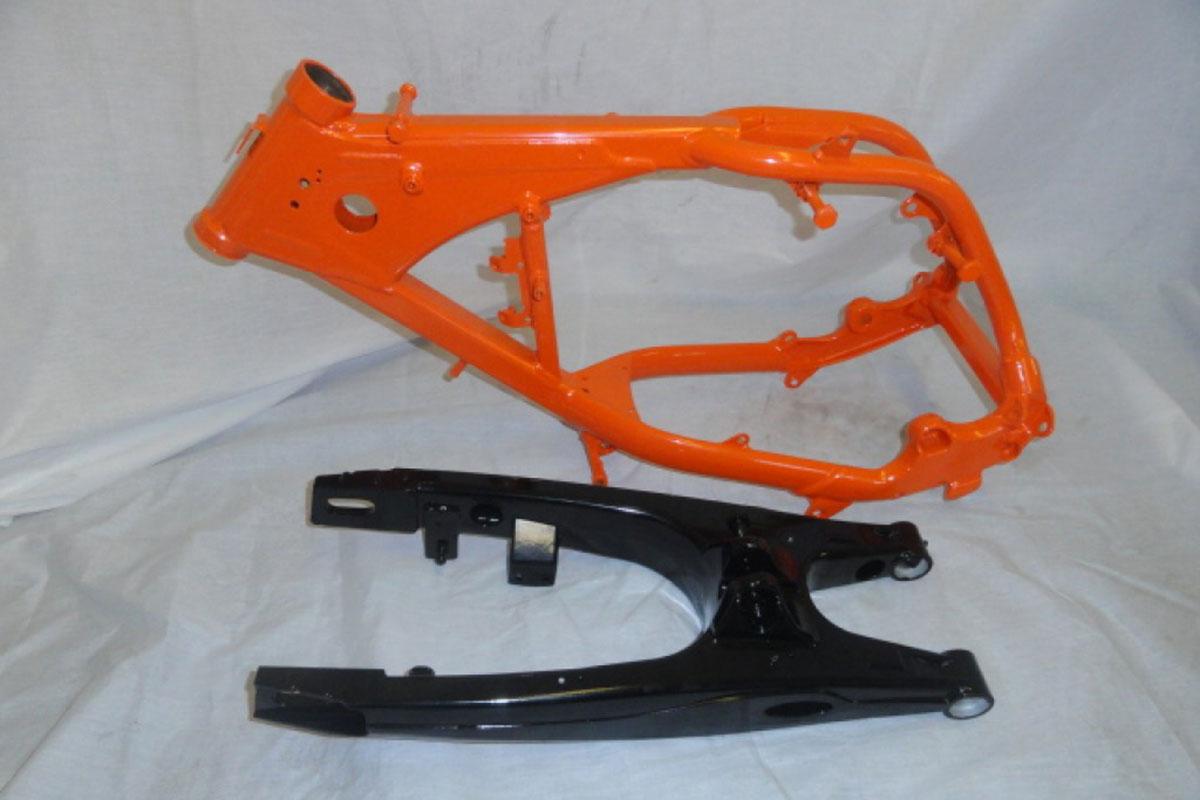 Motorcross Bike Frame & Swing Arm