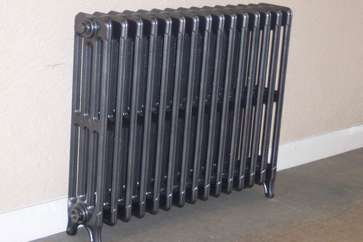 Restored Cast Iron Radiator